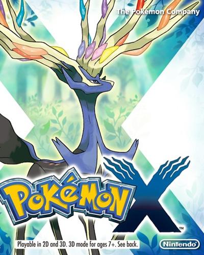 Pokémon X/Y Boxshot