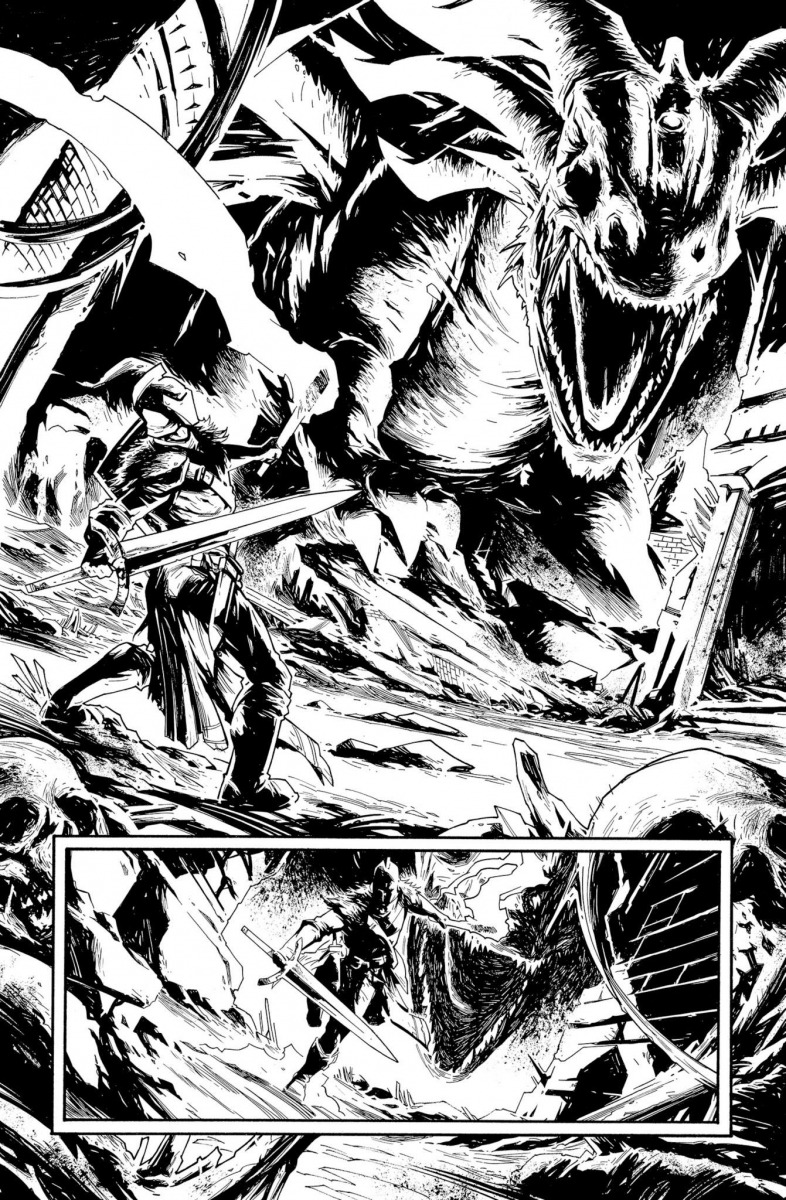 Dark Souls 2 - Comic - Page 1