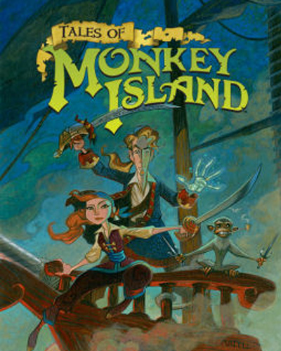 Tales of Monkey Island - пятая игра в серии Monkey Island и первый из