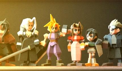 Final Fantasy VII: Figuren aus dem 3D-Drucker