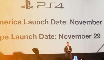 GC 2013: Infos zur PlayStation 4 und PSVita von der PK
