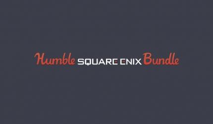 The Humble Square Enix Bundle gestartet