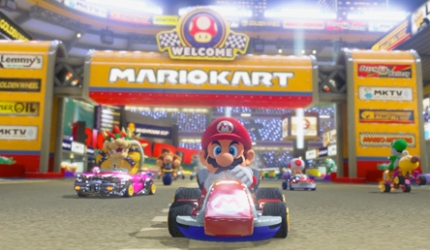 Mario Kart 8 - New Courses and Items Trailer