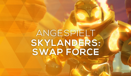 Feature: GC 2013: Skylanders: Swap Force angespielt