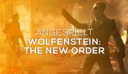 Feature: GC 2013: Wolfenstein: The New Order angespielt