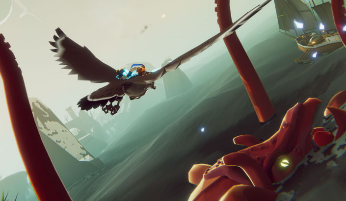 Feature: Gamescom19: The Falconeer Gameplay + Wired Productions