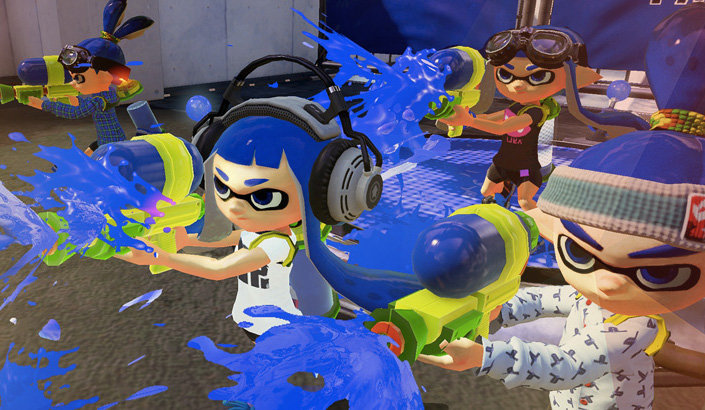Feature: GC 2014: Splatoon angespielt