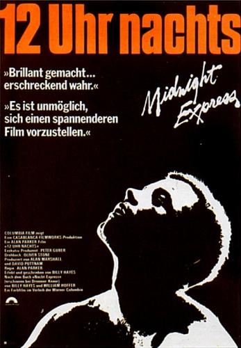 12 Uhr nachts - Midnight Express Poster