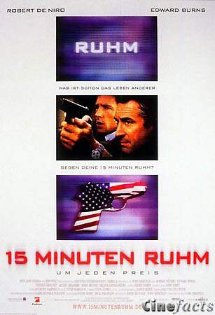 15 Minuten Ruhm Filminfo