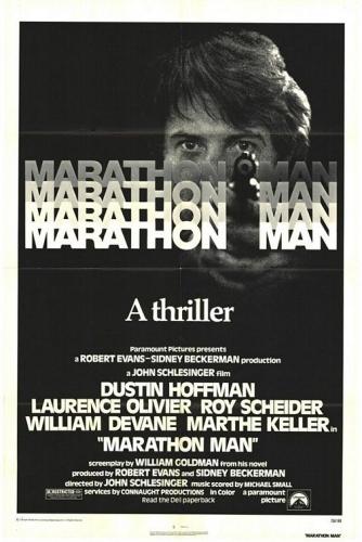 Der Marathon-Mann Poster