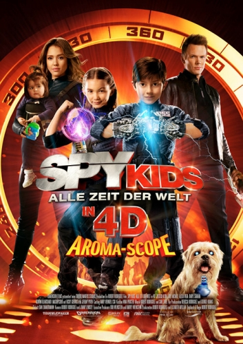 Spy Kids 4D Filminfo
