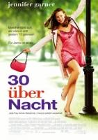 30 über Nacht Poster