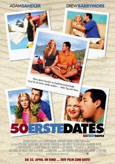 50 erste Dates Poster