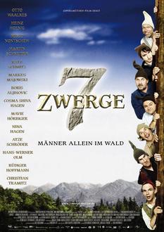 7 Zwerge - Männer allein im Wald Poster