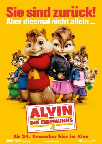 Alvin und die Chipmunks 2 Poster