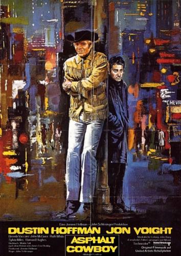 Asphalt-Cowboy Poster