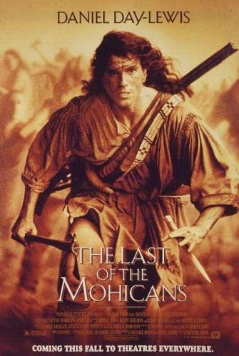 Der letzte Mohikaner Poster
