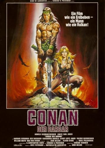 Conan, der Barbar Poster