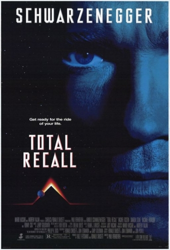 Die totale Erinnerung – Total Recall Poster