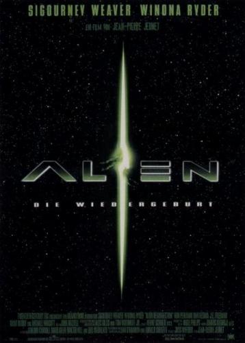 Alien - Die Wiedergeburt  Poster