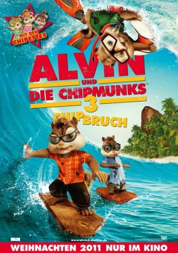 Alvin und die Chipmunks 3: Chipbruch Poster