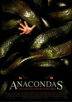 Anacondas - Die Jagd nach der Blut-Orchidee Poster