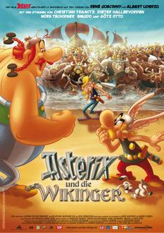 Asterix und die Wikinger Poster