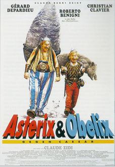 Asterix & Obelix gegen Caesar Poster