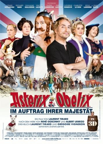 Asterix & Obelix - Im Auftrag Ihrer Majestät Poster