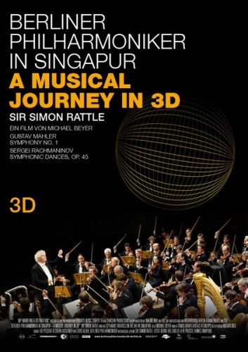 Berliner Philharmoniker in Singapore - A Musical Journey in 3D Poster