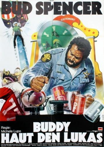 Buddy haut den Lukas Poster