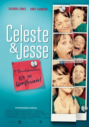 Celeste + Jesse Poster