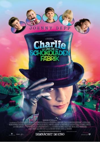Charlie und die Schokoladenfabrik Poster
