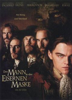 Der Mann in der eisernen Maske Filminfo