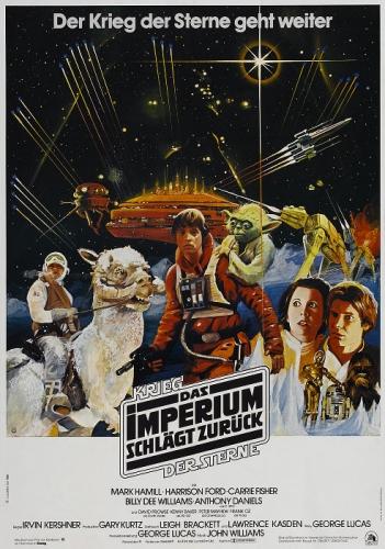 Star Wars: Episode V - Das Imperium schlägt zurück Poster
