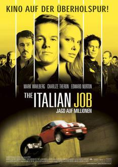 The Italian Job - Jagd auf Millionen Poster