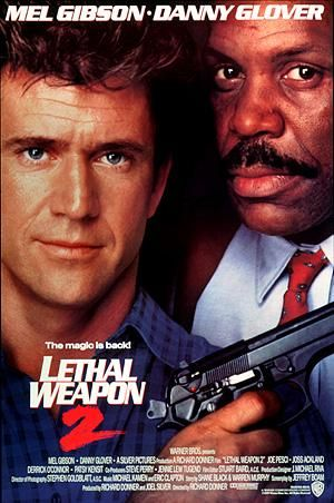 Brennpunkt L.A. - Lethal Weapon 2 Poster