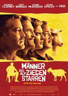 Männer, die auf Ziegen starren Filminfo