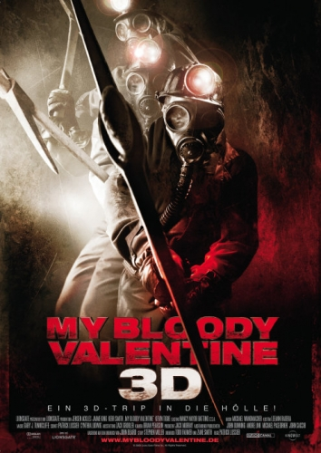 My Bloody Valentine 3D Poster