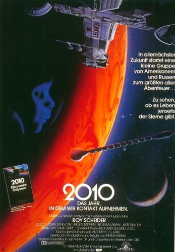 2010 - Das Jahr in dem wir Kontakt aufnehmen Poster