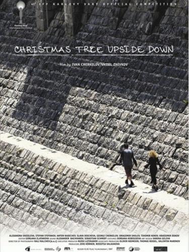 Christmas Tree Upside Down Poster