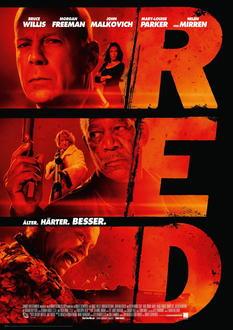 R. E. D. - Älter, härter, besser Poster