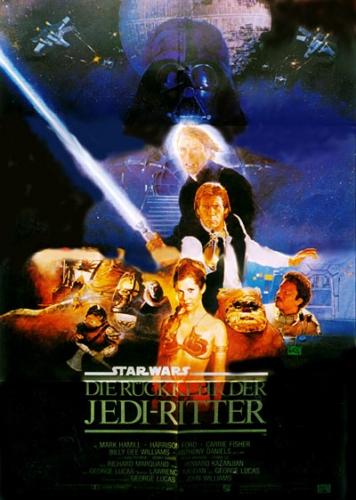 Star Wars: Episode VI - Die Rückkehr der Jedi-Ritter Poster