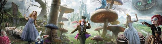 News: Alice im Wunderland Bilderupdate und Trailer