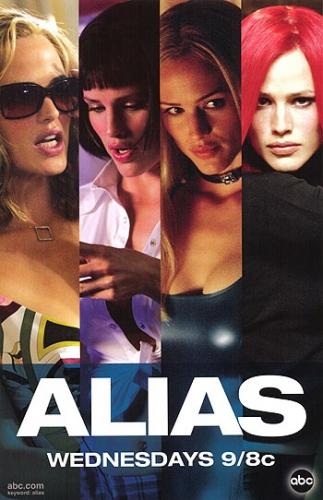 Alias - Die Agentin Poster